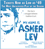 My Name Is Asher Lev play graphic