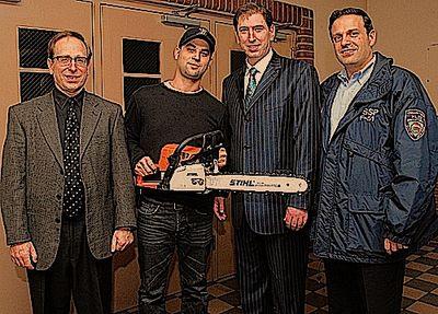 Faltbush Shomrim Manhattan Beach Hurricane Sandy Award 12-12-2012