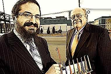 Rabbi Zalman Grossbaum, Roger B. Jacobs