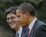 President Obama and Jack Lew