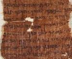 Fragment of Nash Papyrus fragment