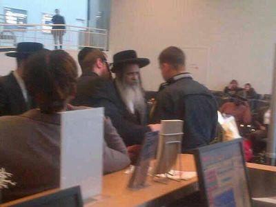Satmar Rebbe TSA pat down 1-10-2013 1