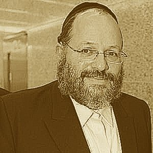 Rabbi Nechemya Weberman sepia smile