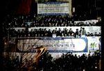 Satmar Rebbe welcome ceremony Jerusalem 1-20-2013