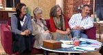 From left, Margo, Chava and Judith with their husband Rabbi Philip Sharp ITV 1-25-2013
