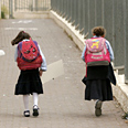Haredi girls school backpacks
