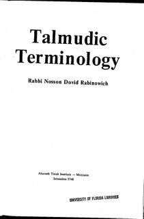 Rabinowich book 1st