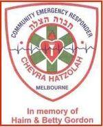 Melbourne Hatzolah logo