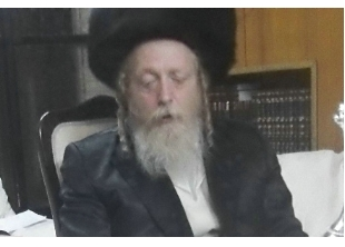 Rabbi Yaakov Yitzchok Roth 1 of 4 brothers who are Shomrei Emunim Rebbes