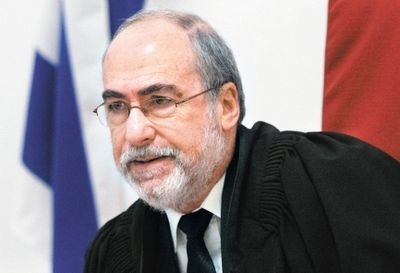 High Court of Justice President Justice Asher Grunis
