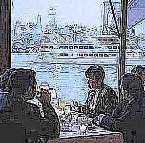 River Cafe closeup