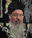 Rabbi Itzhak Yehoshua closeup