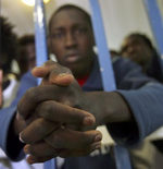 Sudanese Refugees In Jail In Israel