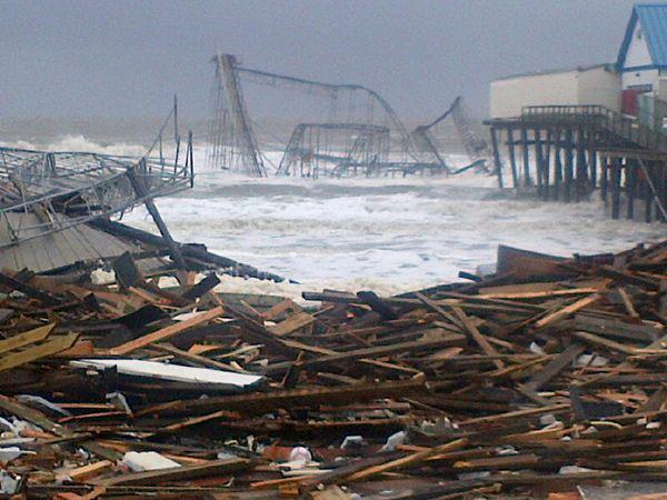 Seaside Heights Hurricane Sandy NBC