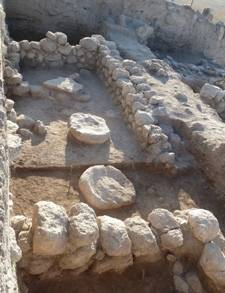 Floor level of desecrated 11th century BCE temple Israel