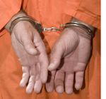 Handcuffs Orange Jumpsuit