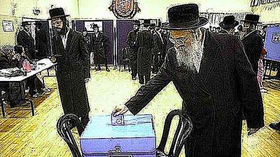 Haredim voting 1-22-2013