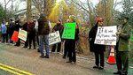 Kiryas Joel pipeline protest 4-15-2013