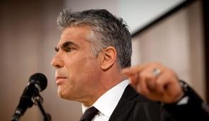 Yair Lapid profile finger point