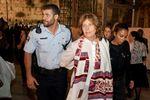 Anat Hoffman kotel arrest 10-16-2012