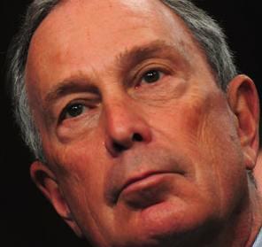 Michael Bloomberg closeup