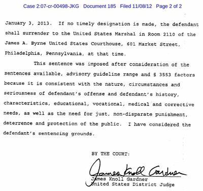 Sholom Rubashkin, Jr Judge's Order revoking supervised release 2