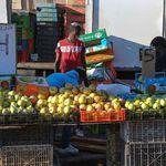 Falash Mura children working in the Sefat market 11-2012