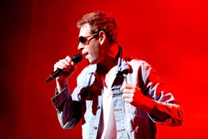 Matisyahu red background