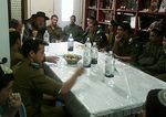Bnei Akiva military prep hih school students meeting with hasidic rebbe Mea Shearim 12-27-2012