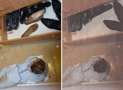 Hamodia censors women's shoes 2-5-2013