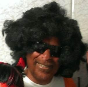 Dov Hikind in blackface Purim 2013