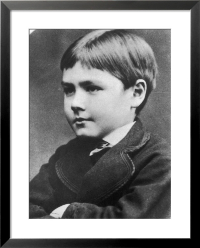 Rudyard Kipling as a boy