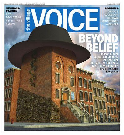 Village Voice Religious Slumlord Cover