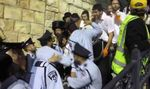 Police and haredim Lag ba'omer 2013 Meron