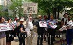 Demonstration against Brooklyn DA 7-11-2013