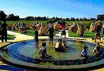 Haredim swimming in war memorial 7-30-2013
