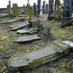 Desecrated Jewish cemetery Ukraine