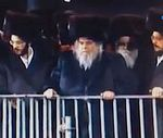 Belzer Rebbe grandson's wedding 5-21-2013