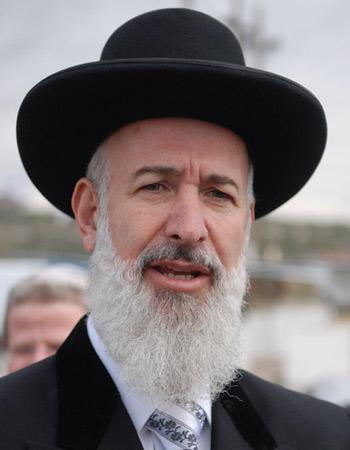Rabbi Yonah Metzger big