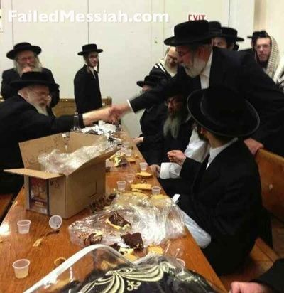 Rabbi Leib Glanz prision release l'chaim Kiryas Joel 5-29-2013 2