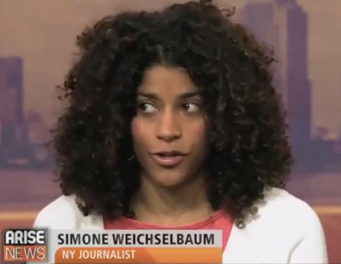 Simone Weichselbaum on Arise News