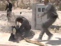 Border Police Soldier Beats Haredi Rioter Who Hit BP Soldier Beit Shemesh 8-14-2013