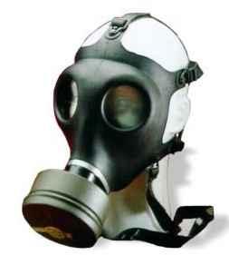 Israeli civilian gas mask with NATO filter