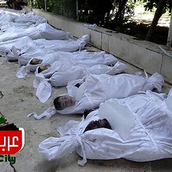Syrian chemical weapons victims 8-2013