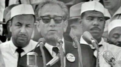 Rabbi Joachim Prinz at 1963 March on Washington