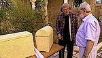 Simcha Jacobovici with Professor Émile Puech 9-2013