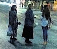 Two haredi missionary women Rosh Hashana 2013 downtown Jerusalem