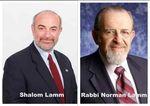 Shalom Lamm and Rabbi Norman Lamm