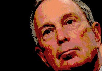 Michael Bloomberg portrait