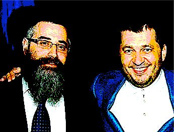 Rabbi Avraham Wolf and Alexander Granovsky